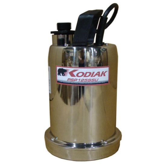 pompe submersible bas niveau 1 po